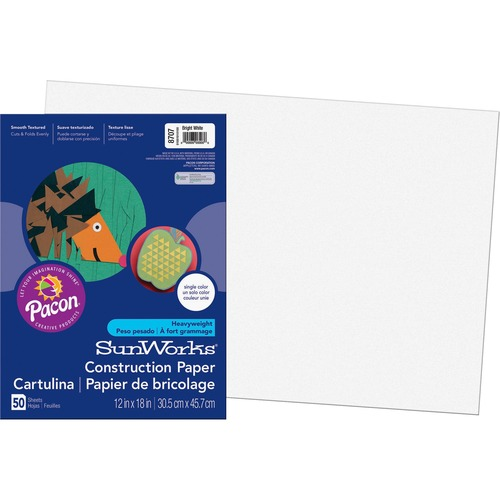 Pacon SunWorks Groundwood Construction Paper PAC8707