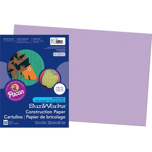 SunWorks Groundwood Construction Paper PAC7107