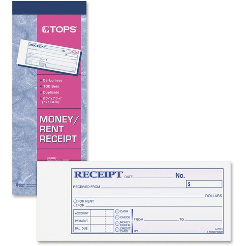 $5.32 More Details · TOPS Money Receipt Book