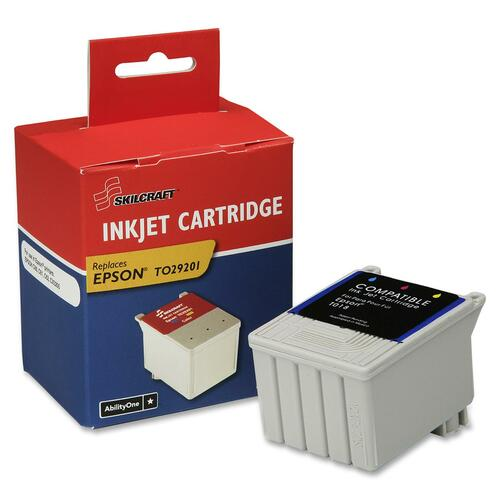 Skilcraft Tri Color Ink Cartridge NSN5556172