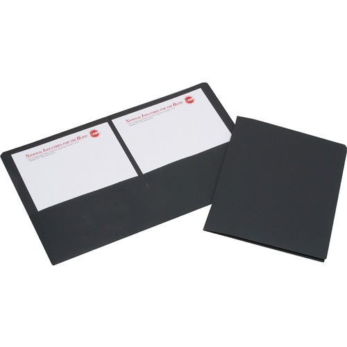 Skilcraft Double Pocket Presentation Portfolio NSN5552905