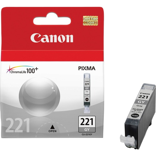 Canon Gray Ink Cartridge CNMCLI221GY