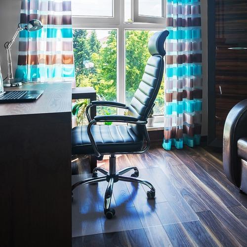 Cleartex Rectangular Chair Mat FLR1220019ER