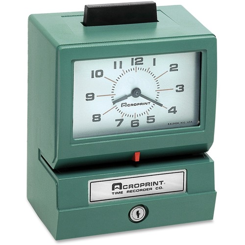 Acroprint Manual Time Clock & Recorder ACP011070411