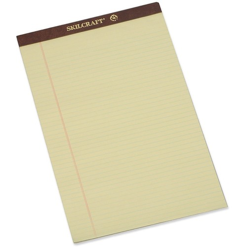 Skilcraft Perforated Writing Pad NSN2096526