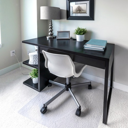 ClearTex Ultimat Chair Mat for Plush Pile Carpets, 48 x 60, Clear FLR1115227ER