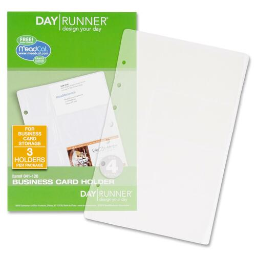 Day Runner Business Card Holder DRN041120