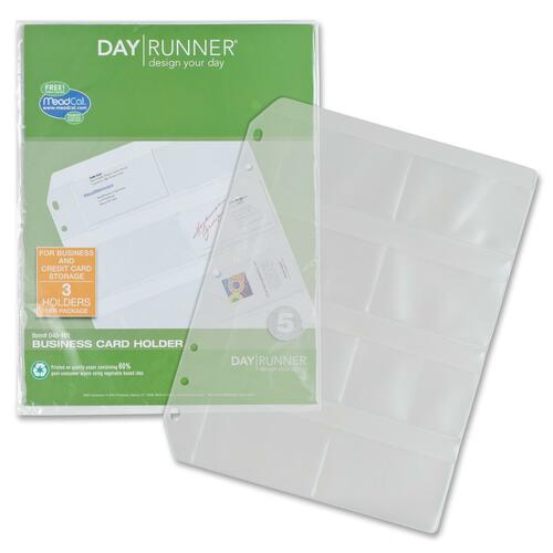 Day Runner Eight Top-loading Credit Card Slots DRN048101