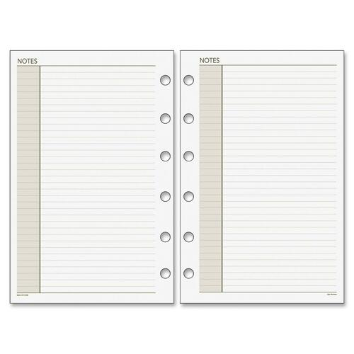 Day Runner Planner Notes Refill Pages DRN018200
