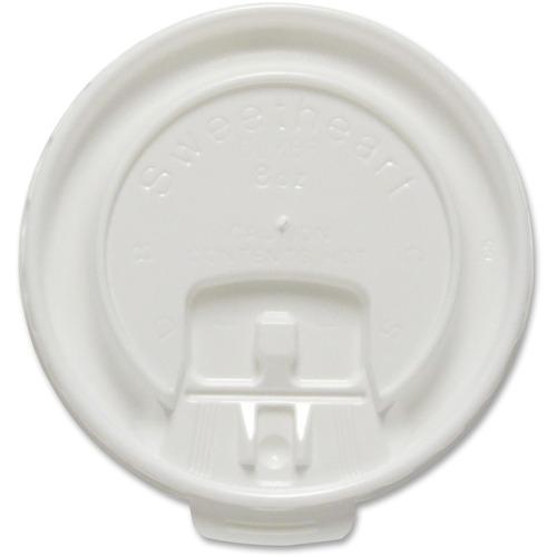 Solo White 8oz Hot Cup Lids SCCDLX8R