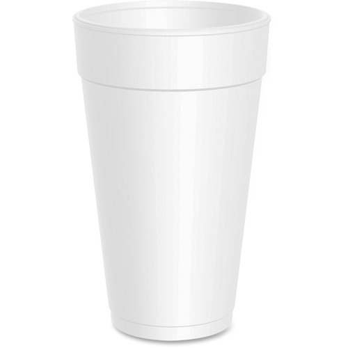 Dart Drink Foam Cups, 20oz, 500/Carton DCC20J16