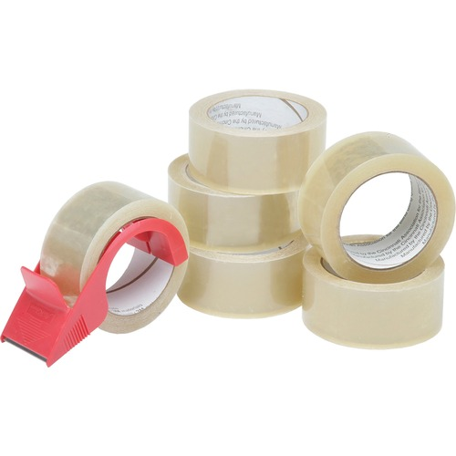 Skilcraft 7510-01-579-6873 Packaging Tape with Dispenser NSN5796873