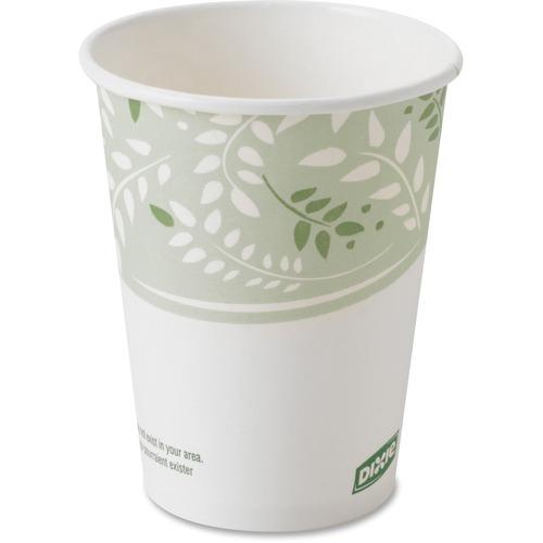 Dixie EcoSmart Viridian Paper Hot Cups DXE2338PLA