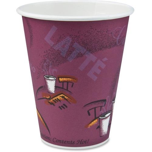 Solo Bistro Disposable Paper Cups SCC370SI