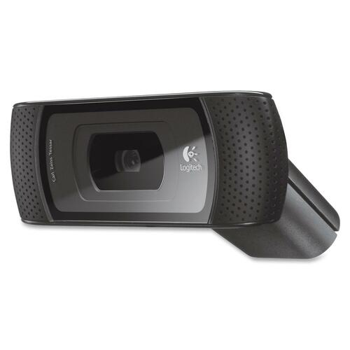 Logitech B910 Webcam - 5 Megapixel - Black - USB 2.0 - 1 Pack LOG960000683