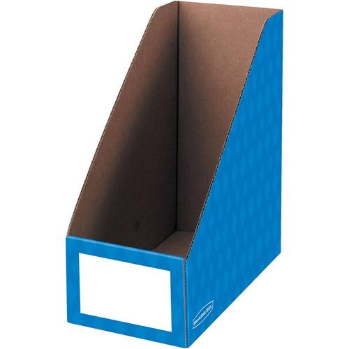 "Bankers Box 6"" Magazine File Holders FEL3380801-BULK"