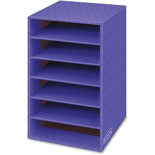 american paper twine co bankers box 6 shelf organizer