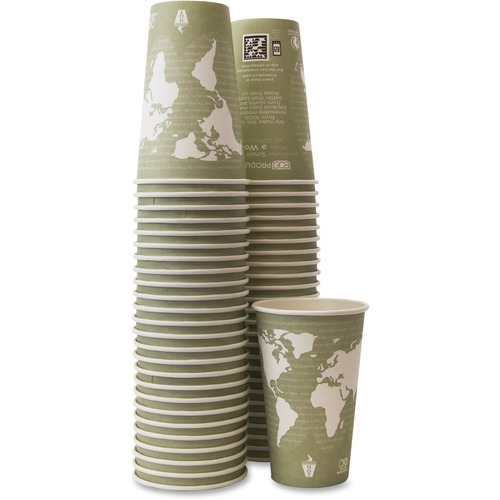Eco-Products Renewable Resource Hot Drink Cup ECOBHC16WAPK