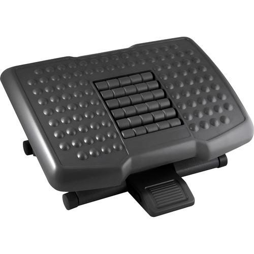 Kantek Premium Ergonomic Footrest with Rollers KTKFR750-BULK