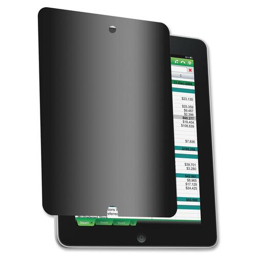 Compucessory CCS20519 Privacy Filter For iPad with Cleaning Cloth Black CCS20519