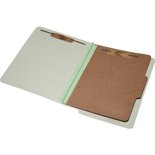 Skilcraft 4-Part End Tab Classification Folder NSN5907106