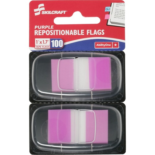 Skilcraft Colorful Self-stick Flag NSN3158654