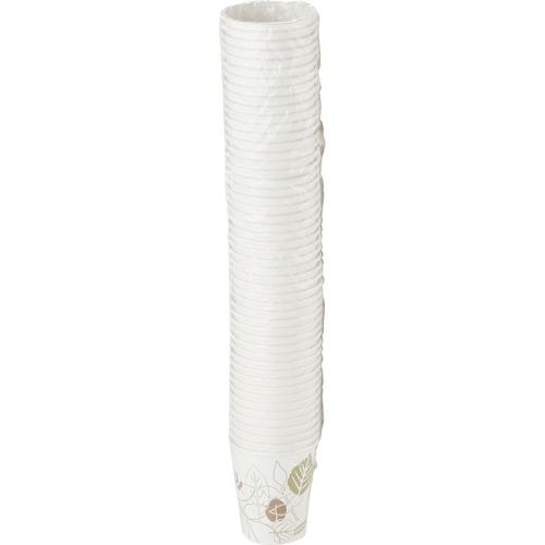 Dixie Pathways Paper Hot Cups, 10 oz., 50/Pack DXE2340PATHPK