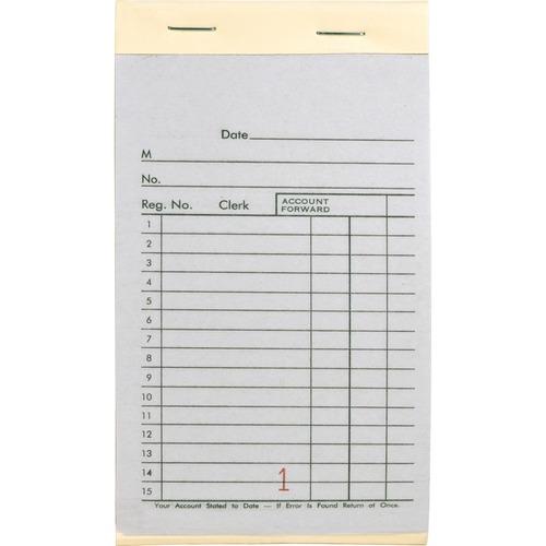 Business Source Single Carbon Sales Book BSN39557-BULK