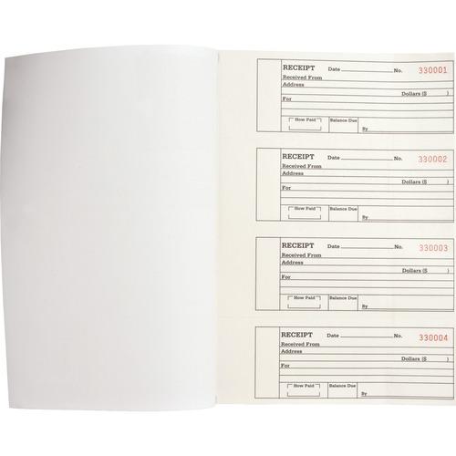 Business Source Duplicate Receipt Book BSN39558-BULK