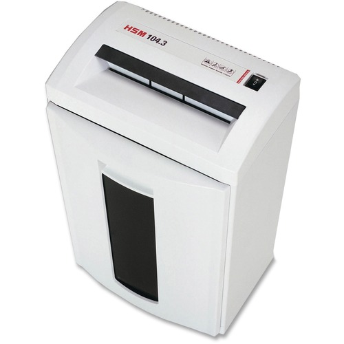 HSM Classic 104.3 Strip-Cut Shredder HSM1286