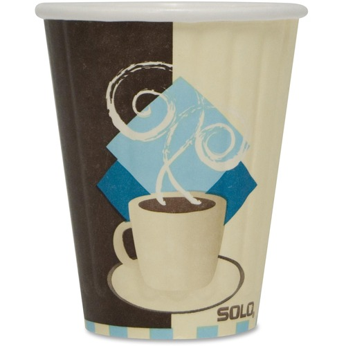 Solo Insulated Paper Hot Cups SCCIC8