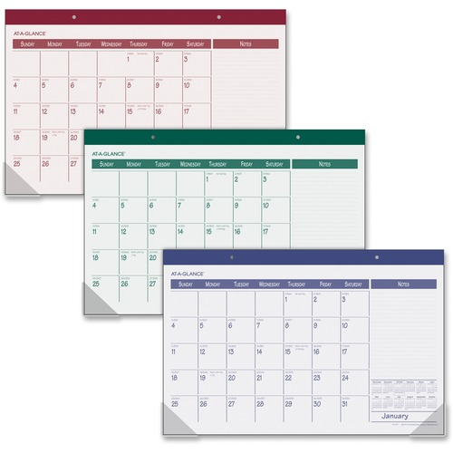 At-A-Glance Monthly Desk Pad AAGSK1510