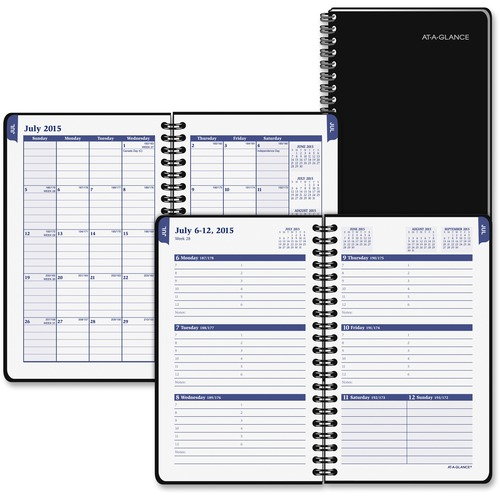 At-A-Glance Dual Planning College Appointment Book AAG70CP0305