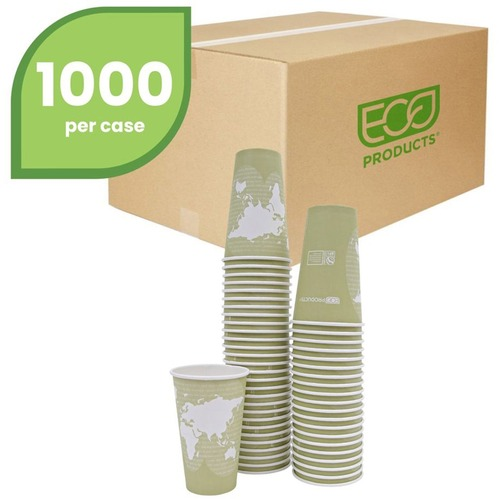Eco-Products World Art Hot Beverage Cups ECOEPBHC16WA-BULK