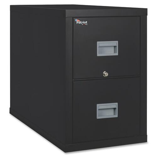 FireKing Patriot Series 2-Dr Vertical Fire Files FIR2P2131CBL