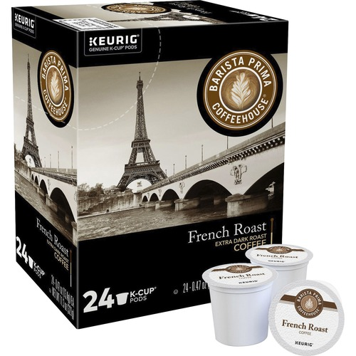 Barista Prima French Roast K-Cup Coffee GMT6611