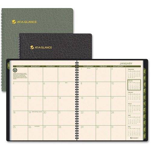 At-A-Glance Recycled Professional Monthly Planners AAG70260G00