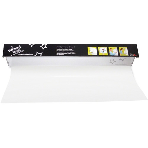 "Wizard Wall 28"" Dry Erase Static Cling Film System WZW27525SBC"