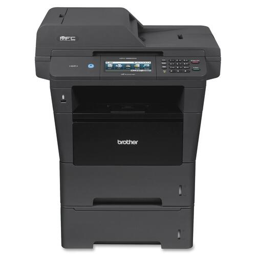 Brother MFC-8950DWT Laser Multifunction Printer - Monochrome - Plain Paper Print - Desktop BRTMFC8950DWT