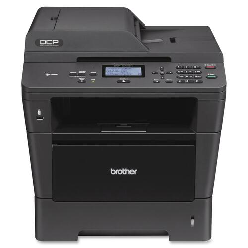 Brother DCP-8110DN Laser Multifunction Printer - Monochrome - Plain Paper Print BRTDCP8110DN