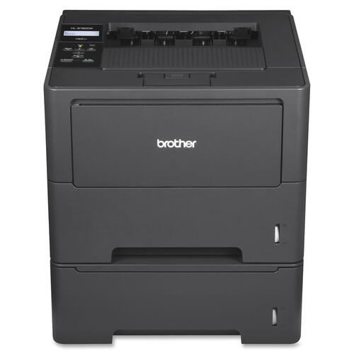 Brother HL-6180DWT Laser Printer - Monochrome - 2400 x 600 dpi Print - Plain Paper Print - Desktop BRTHL6180DWT