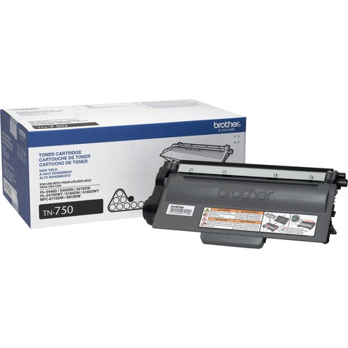 Brother High Yield Toner Cartridge BRTTN750