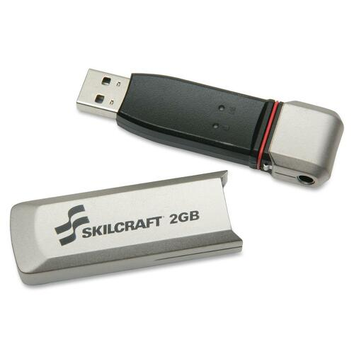 Skilcraft 2GB USB 2.0 Flash Drive NSN5999352