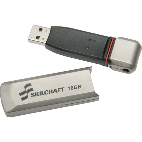 Skilcraft 16GB USB 2.0 Flash Drive NSN5999356