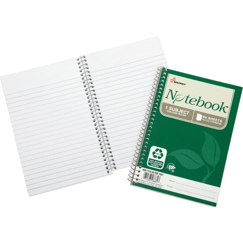 Skilcraft Single-subject Spiral Notebook NSN6002013