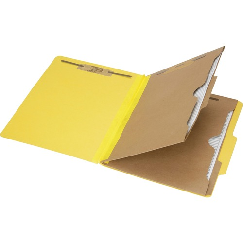 Skilcraft 6-Part Letter Size Classification Folder NSN6006975
