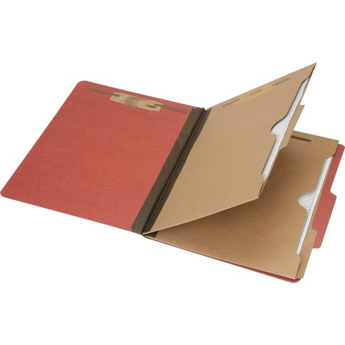 Skilcraft 6-Part Letter Size Classification Folder NSN6006979