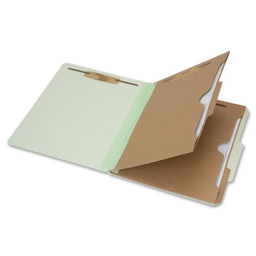 Skilcraft 6-Part Letter Size Classification Folder NSN6006980