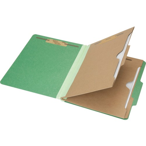 Skilcraft 6-Part Letter Size Classification Folder NSN6006983