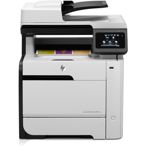HP LaserJet Pro 300 M375NW Laser Multifunction Printer - Color - Plain Paper Print - Desktop HEWCE903A